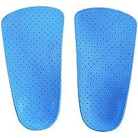 Orthotic Schuh-Einlegesohlen, zur Hälfte mit Fußgewölbe und Ferse, Fuß Orthopädische Einlegesohlen für Damen und... preisvergleich bei billige-tabletten.eu