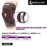 Mueller Knie-Wickelbandage mit Gelenk Regular Typ: XL