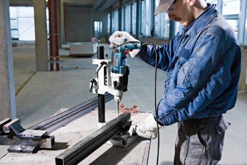 Bosch Professional GSB 19-2 RE Schlagbohrmaschine (2-Gang, 13 mm Schnellspannbohrfutter, Tiefenanschlag, Zusatzhandgriff, 850 W, Koffer) blau, 060117B500 - 4