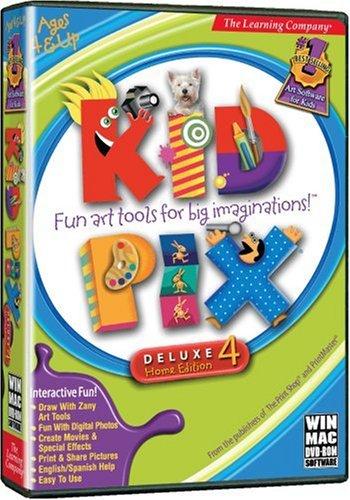 Kid Pix Deluxe 4 (Kid Pix)