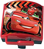 Disney 35551 - Timbre de Bicicleta Infantil (Mecanismo eléctrico), diseño de Cars, Color Rojo