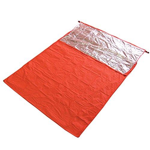 WINOMO enveloppe Camping alpinisme thermique la réflexion Sac de couchage double Field équipement de survie