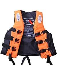 hibote Deportes acuáticos Natación chalecos salvavidas de flotabilidad ayuda a la infancia Vela Kayak flotador Chaleco tamaño S-M