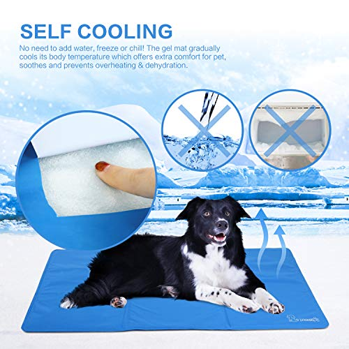Zoom IMG-1 pecute tappetino raffreddamento cane grandi