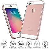 iPhone SE 5S 5 Hülle, FayTun iPhone SE 5S Schutzhülle Case Silikon- Crystal Clear Ultra Dünn Durchsichtige Backcover Handyhülle TPU Case für iPhone SE 5S 5 5C (Transparent) - 3