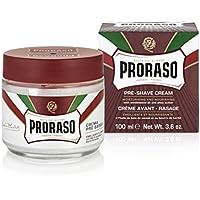 Proraso Crème Avant Rasage Rouge Barbes Dures 100 ml
