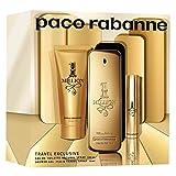 Rabanne 1 Million Set Eau De Toilette + 5Ml + S/G - Pacco da 3 x 68.33 ml - Totale: 205 ml