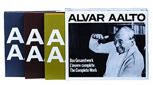 Alvar Aalto – Das Gesamtwerk / L'œuvre complète / The Complete Work: Complete Works Buch-Cover