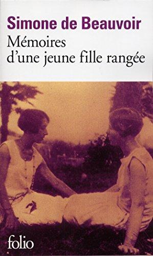Mémoires d'une jeune fille rangée (Folio) par Simone de Beauvoir