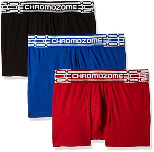 Chromozome Men's Cotton Boxer (Pack of 3) (8902733347167_CR2_Blkblurd_S)  available at amazon for Rs.718