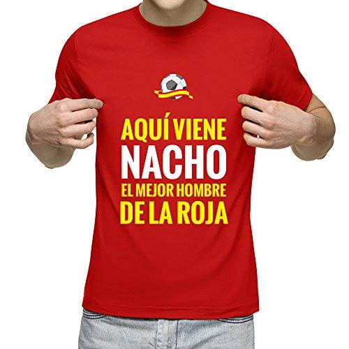 Camiseta Personalizada Nombre Frase 'Aquí Viene Mejor