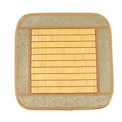 Ipotch universale cuscino di seduta in bambù seggiolino auto suv - beige