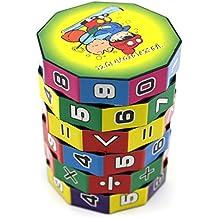 VANKER Regalo de Navidad de juguetes educativos para niños Mini matemáticas de enseñanza aprendizaje de juguete