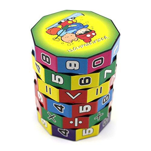 VANKER Regalo de Navidad de juguetes educativos para niños Mini matemáticas de enseñanza aprendizaje de