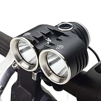 Feu Vélo Bike Light Lampe Avant ThorFire 1400LM Lumière Vélo Éclairage Vélo CREE XM-L2 Éclairage Cyclisme Livré Avec Feu Arrière & Batterie 18650*4