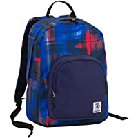 640bbbc37d ZAINO INVICTA - OLLIE PACK - Shade Wave Blue Rosso - tasca porta pc padded -