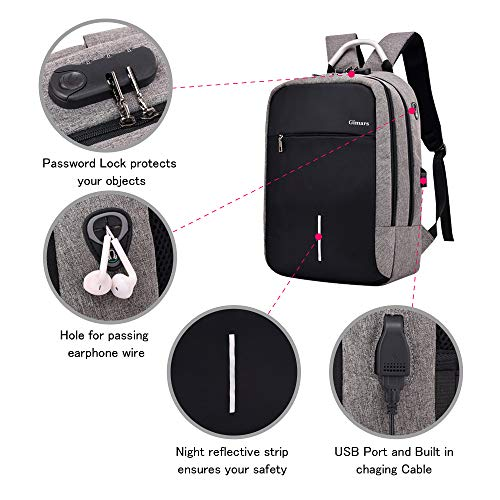 Zoom IMG-3 gimars zaino antifurto per laptop