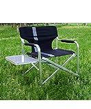 QIANGDA Chaise de Camping Foldable Chaise de Plage Jardin Pêche Bureau Réalisateur Intérieur/De Plein air (Couleur : A(60 * 46 * 80CM))