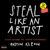 Steal Like an Artist 2017 Calendar