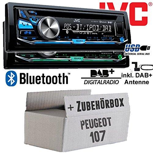 Peugeot 107 - JVC KD-DB97BT - DAB+ Digitalradio | Bluetooth | USB...