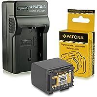 Cargador + Batería BP-819 / BP-820 para Canon Camcorder HF-G30 | XA20 | XA25 - LEGRIA HF-G10 | HF-G20 | HF-G25 | HF-G30 | HF-M30 | HF-M31 | HF-M32 | HF-M40 | HF-M41 | HF-M300 | HF-M301 | HF-M400 | HF-S10 | HF-S11 | HF-S1400 - [ Li-ion; 1780mAh; 7.4V ]
