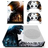 #10: Hytech Plus Halo 5 Special Edition Theme Sticker for Xbox One S Console & 2 Controllers