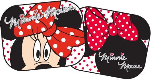 Mickey Mouse 27006 Minnie Mouse Seitenscheiben-Sonnenblenden, 44 x 35 cm, 2 Stück