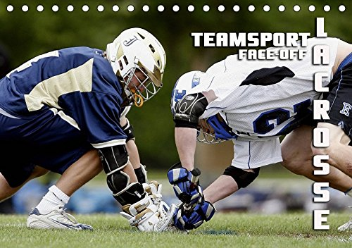 Teamsport Lacrosse - Face-off (Tischkalender 2019 DIN A5 quer): Packende Spielszenen aus der Welt des Lacrosse (Monatskalender, 14 Seiten ) (CALVENDO Sport) (Crosse La Postkarte)