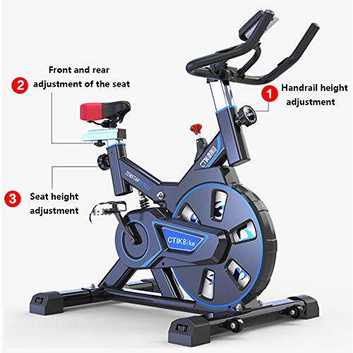 51IURfThKaL. SS500  - JYKJ Indoor Sports Bicycle Aerobics Exercise Bike Home Pedal Bicycle Rotating Bicycle Indoor Mute Sports Weight Loss Equipment Indoor Fitness Equipment