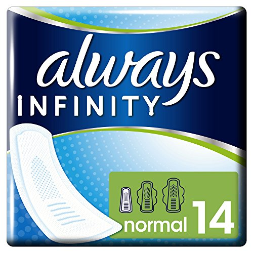 always-infinity-normal-sanitary-towels-no-wings-14-pads