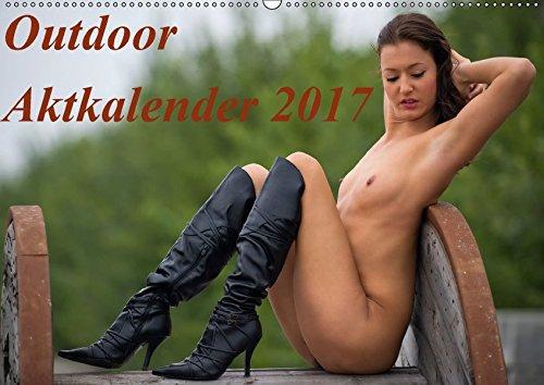 Outdoor Aktkalender 2017 (Wandkalender 2017 DIN A2 quer): Kalender mit Outdooraktfotografien in Farbe (Monatskalender, 14 Seiten) por Helmut Brandt