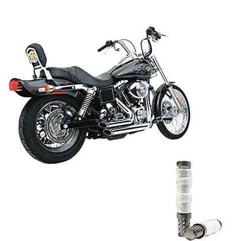 Rejets shortShots Vance & Hines chromés x Harley Davidson Sportster XL 883120014-up + Set Paire DB Killer Silencieux