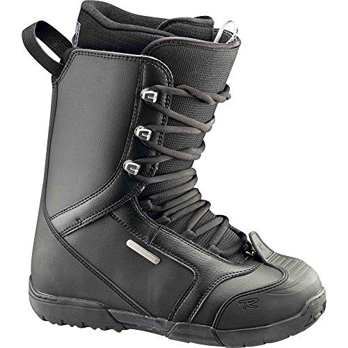Rossignol-Schuhe Snowboard Excite Lace Schwarz Herren-Herren-Größe 27,5-Schwarz, schwarz