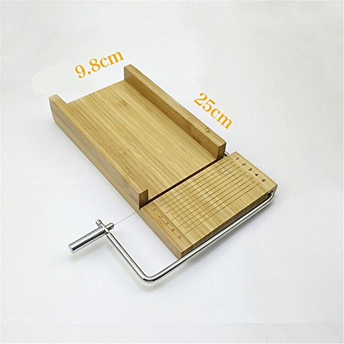 Holzsammlung Bamboo Soap Cutter Mold, Beveler Planer Wire Slicer for Handmade Candles Trimming DIY Cutting Making Tools #5
