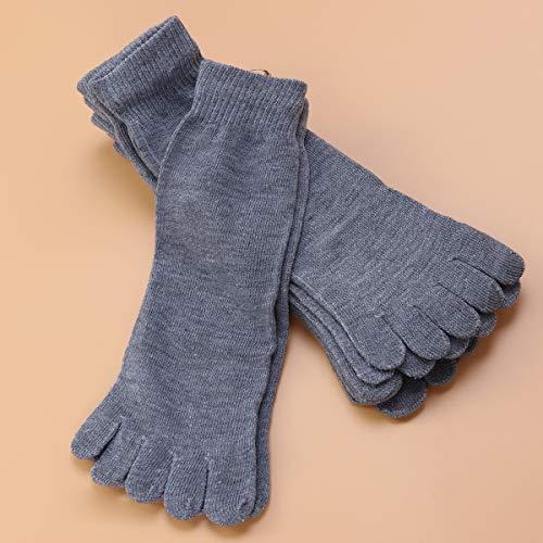 buy popular 44e20 ebca0 Preiswert HEALIFTY 5 Paar Knöchelkompression Socken Mode Fünf Finger ...