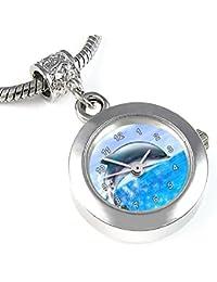 Delfin reloj para el collar o pulsera