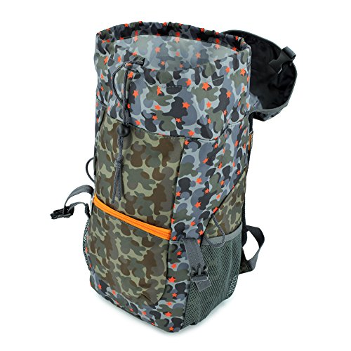 Hugger Borsa escursioni per bambini / Hugger Children's Hiking Bag (banana e denaro / banana apes) camuffamento grigio / desert star camouflage