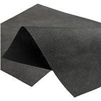 Masgard Unkrautvlies Gartenvlies Schwarz 50 g/m² Verschiedene Abmessungen Atmungsaktiv (3,20 m x 50,00 m = 160 m² (Rolle))