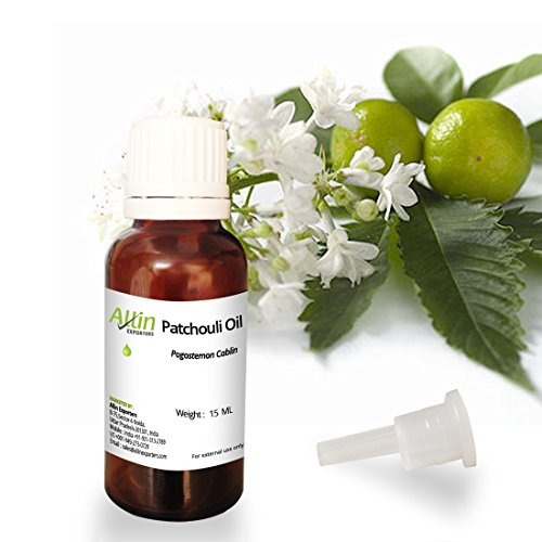 Allin Exporters Natural & Undiluted Patchouli Oil - 15 ML - Used...