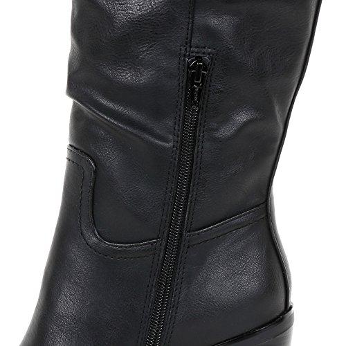 Prendimi by Scarpe&Scarpe - Stivali con Tacco Largo, con Tacco 9 cm Nero