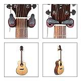 EisEyen Gitarre Haken Gitarrenhalter Gitarrenständer Wandhalterung für Gitarren/Bass/Banjo/Mandoline mit Automatioschem