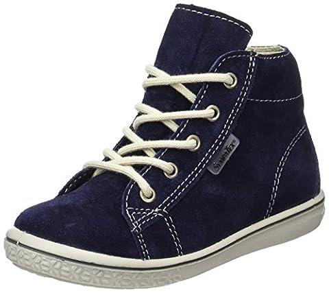 Ricosta Unisex-Kinder Zayni Hohe Sneaker, Blau (Nautic), 24 EU