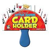 Gamewright Original Little Hands Card Holder, Red/Blue