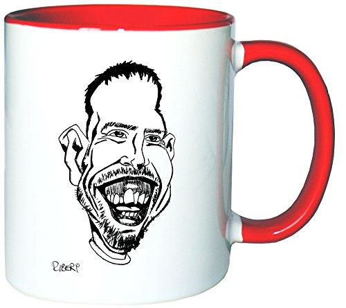 Mister Merchandise Kaffeetasse Becher Franck Ribery Teetasse