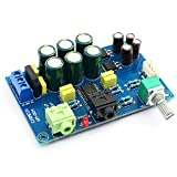 TPA6120 Tablero Amplificador de Auriculares TPA6120A2 HiFi Cero Ruido Amplificador Tablero DIY / Acabado - Azul