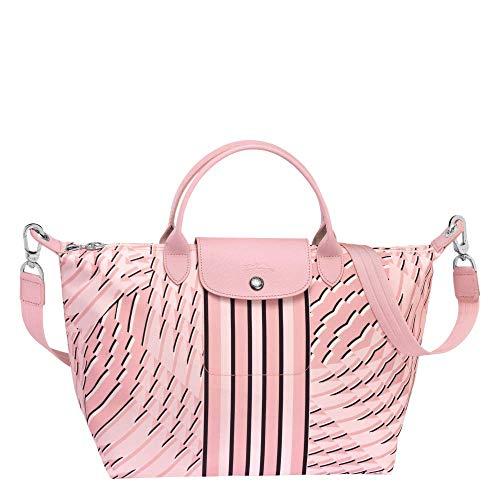 Longchamp Le Pliage Tasche Petal Rosa Größe M Special Edition