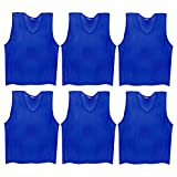 #4: SAS Sports Training Bibs Scrimmage Vests Pennies for Soccer - Pack of 6