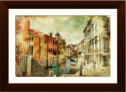 Venice framed painting