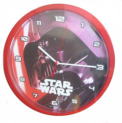 Star Wars SW14010 Darth Vader - Reloj de Pared (24 cm)
