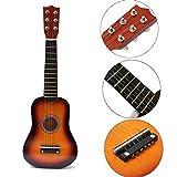 21 Inch Practice Acoustic Ukulele 6 Stri...